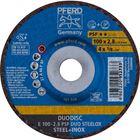Immagine di PFERD Dischi da sbavo E 100-2,8 PSF DUO STEELOX/16,0
