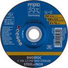 Immagine di PFERD Dischi da sbavo E 150-3,5 PSF DUO STEELOX