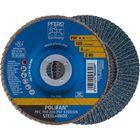 Immagine di PFERD Disco lamellare POLIFAN PFC 100 Z 80 PSF STEELOX/16,0