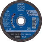 Immagine di PFERD Dischi da taglio EHT 150-2,5 SGP STEELOX