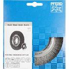 Immagine di PFERD Spazzole a disco, filo non ritorto POS RBU 15025/AK32-2 ST 0,20