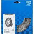 Immagine di PFERD Spazzole a disco, filo non ritorto POS RBU 18025/AK32-2 ST 0,20