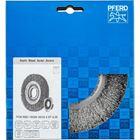 Immagine di PFERD Spazzole a disco, filo non ritorto POS RBU 18025/AK32-2 ST 0,30