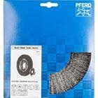 Immagine di PFERD Spazzole a disco, filo non ritorto POS RBU 20038/AK32-2 ST 0,30