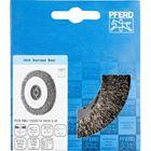 Immagine di PFERD Spazzole a disco, filo non ritorto POS RBU 10020/14,0 INOX 0,30