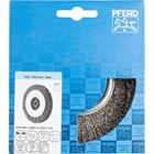 Immagine di PFERD Spazzole a disco, filo non ritorto POS RBU 12520/14,0 INOX 0,30