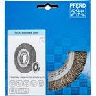 Immagine di PFERD Spazzole a disco, filo non ritorto POS RBU 15038/AK32-2 INOX 0,30
