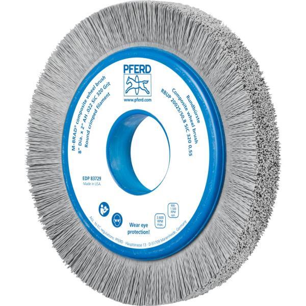 Immagine di PFERD Spazzole a disco, filo non ritorto RBUP 20025/50,8 SiC 320 0,55